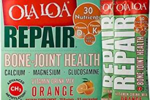 Ola Loa REPAIR Bone & Joint Glucosamine Supplement - Orange