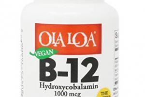 Cherry Flavor B-12 Dietary Supplement