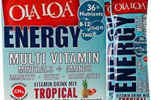 Ola Loa ENERGY Multi Vitamin Drink Mix: Tropical flavor