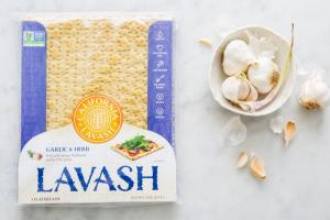 Lavash Garlic & Herb Flatbreads