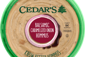 Balsamic Caramelized  Hommus