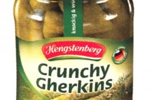 Crunchy Gherkins