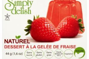 Strawberry Jel Dessert