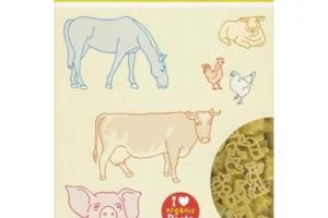 Alb Gold Organic Kids Pasta Farm Animal Shapes