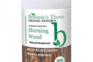 Morning Wood Natural Deodorant
