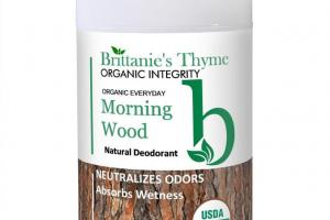 Morning Wood Natural Deodorant