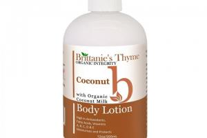 Body Lotion, Coconut