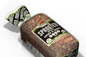 Sprouted Wheat Hemp and Hops Bread