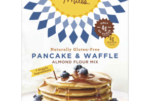 Naturally Gluten-free Pancake & Waffle Almond Flour Mix