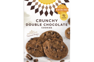 Crunchy Double Chocolate Cookies