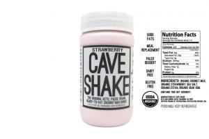Strawberry Cave Shake