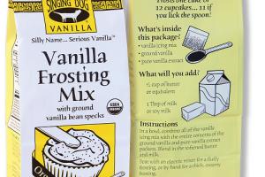 Organic Vanilla Frosting Mix