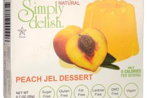 Peach Jel Dessert