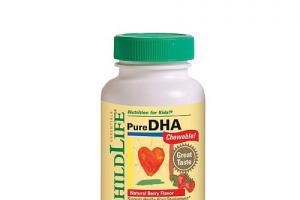 Pure DHA Soft Gels