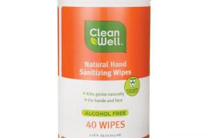 Hand Sanitizing Wipes - Orange Vanilla