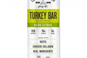 Herb Citrus Turkey Bar