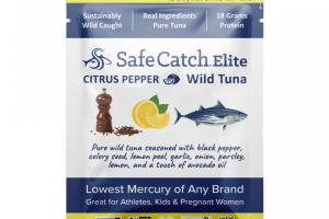 Seasoned Elite Tuna Pouch – Citrus Pepper