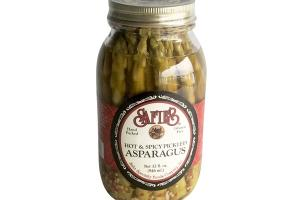 Hot and Spicy Pickled Asparagus
