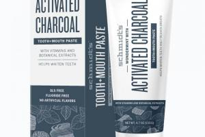 Activated Charcoal, Tooth+mouth Paste