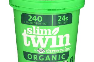 Slim Twin  Low Fat Mint Ice Cream