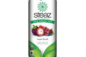 Lightly Sweetened Iced Green Tea - Super Fruit