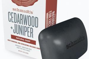 Cedarwood + Juniper With Charcoal and Exfoliating Volcanic Sand Soap