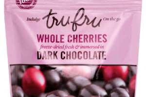 Dark Chocolate WHOLE CHERRIES