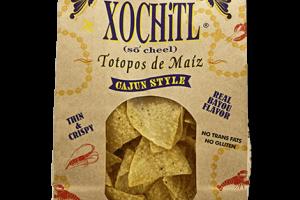 Totopos de Maíz (Corn Chips) Cajun Style