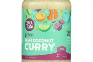 Green Thai Coconut Curry