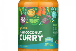 Thai Coconut Curry - Yellow