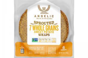 Sprouted 7 Whole Grains Sweet Potato Wraps