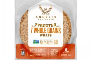Sprouted 7 Whole Grains Wraps