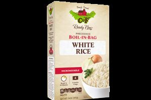 Boil-in-bag White Rice