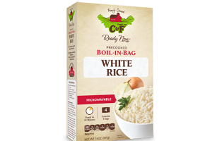Boil-in-bag White Rice