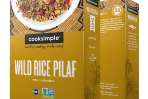 Wild Rice Pilaf With Cranberries