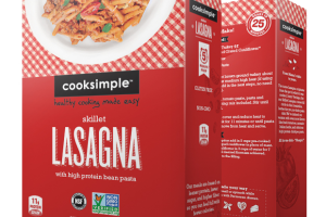 Skillet Lasagna With High Protein Bean Pasta