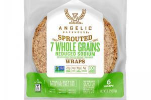 Sprouted 7 Whole Grains Reduced Sodium Wraps