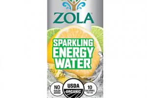Sparkling Energy Water - Lemon Lime
