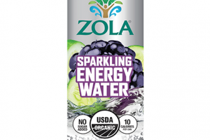 Sparkling Energy Water - Blackberry Cucumber