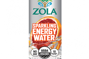 Sparkling Energy Water - Blood Orange