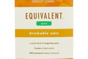 Equivalent Drinkable Oats - Spice