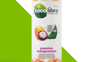 Coco Libre Sparkling - Passion Mangosteen