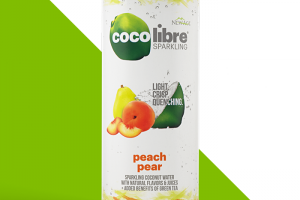 Coco Libre Sparkling - Peach Pear