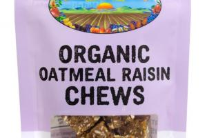 Organic Oatmeal Raisin Chews
