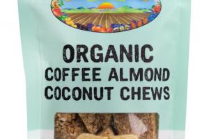 Organic Coffee Almond Coconut Chews