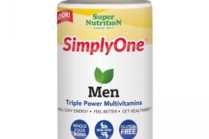 SimplyOne® Men Triple Power Multivitamins