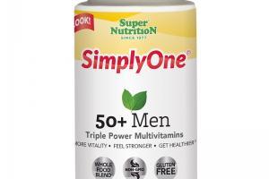 SimplyOne® 50+ Men Triple Power Multivitamins