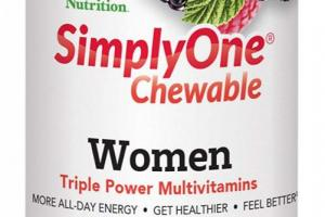 Chewable 50+ Women Triple Power Multivitamins Dietary Supplement