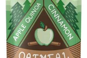 Oatmeal Fruit Squeeze - Apple Quinoa Cinnamon