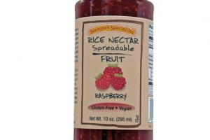 Rice Nectar Spreadable Fruit - Raspberry